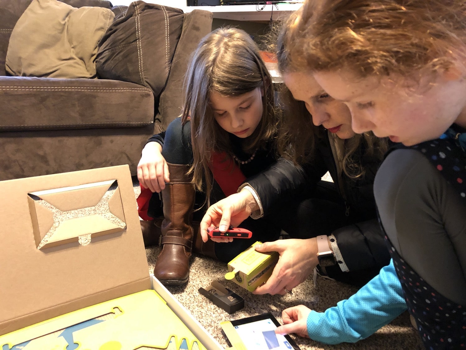 nintendo labo mommy and me monday