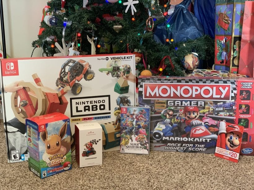 Holiday Gift Ideas from Nintendo