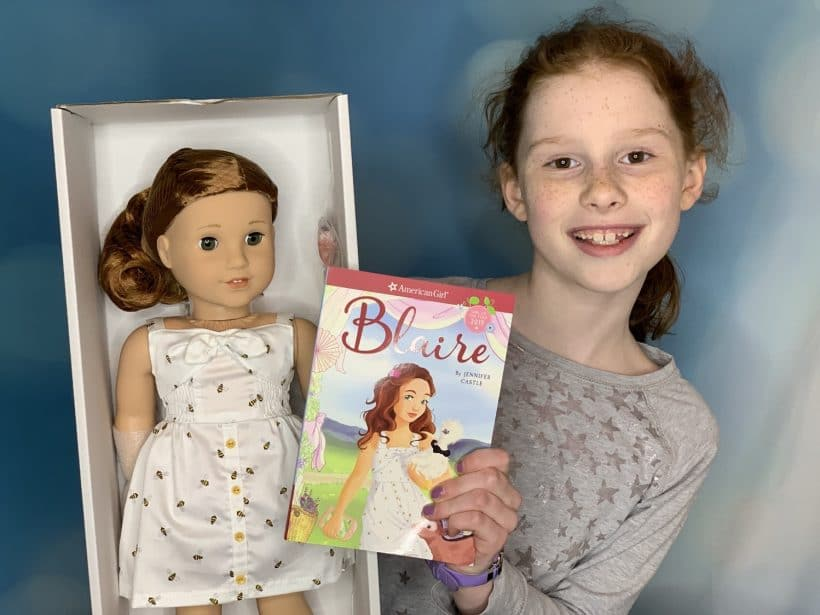 Blaire Wilson: American Girl's 2019 Girl of the Year with Video