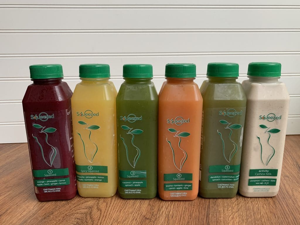 Squeezed | Cleanse and Juice Review + Coupon Code