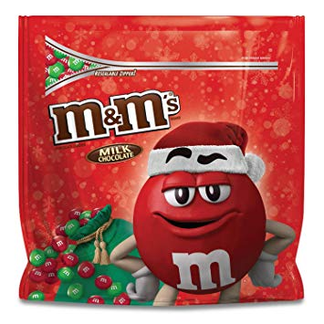 M&M'S Christmas Milk Chocolate Candy Party