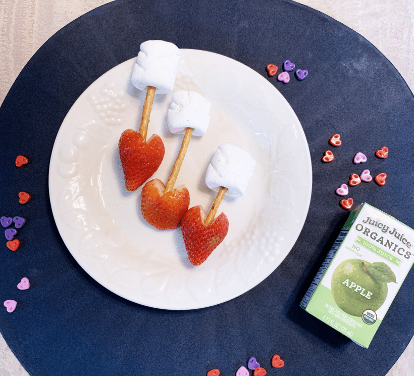 Super Easy Valentine's Day Craft + Snack Activity | Cupid's Arrow