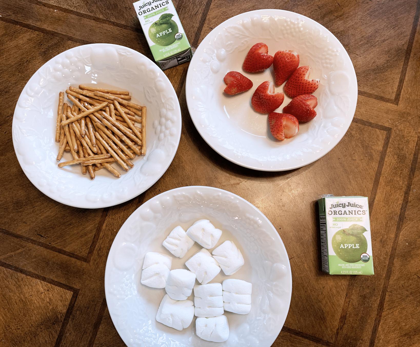valentines craft snack Supplies