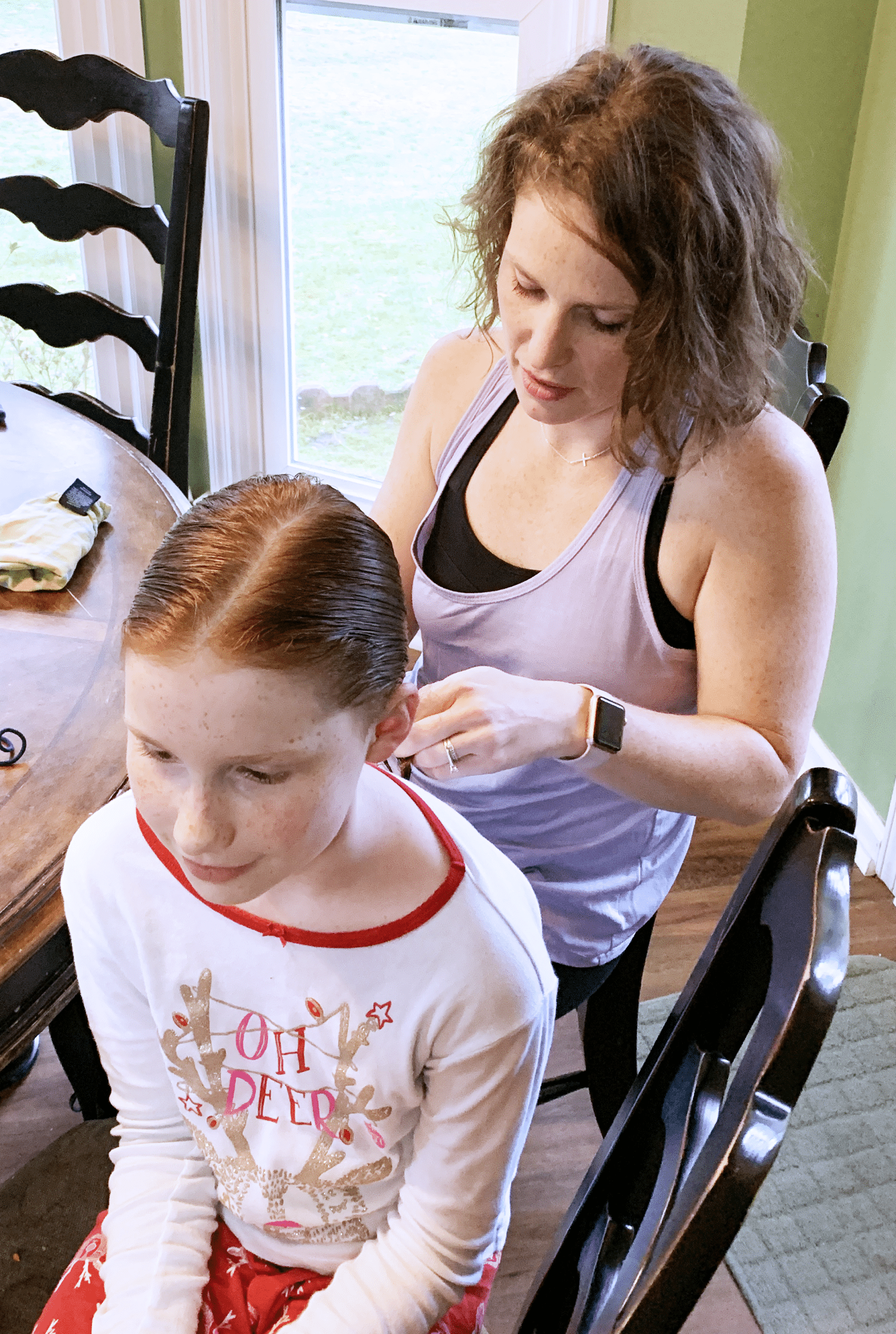 Hair braiding mommy and me monday