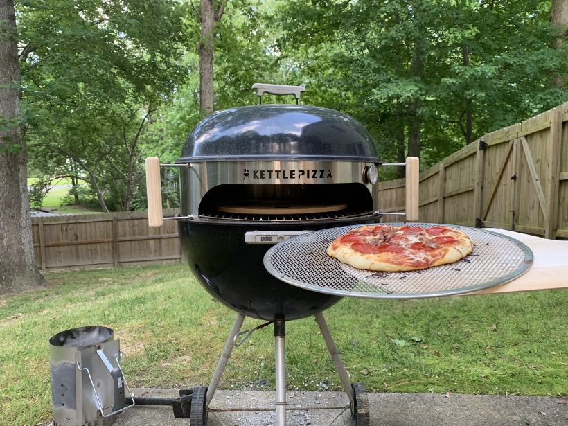 Tips for cooking with a Pizza Oven on Charcoal Grill | KettlePizza