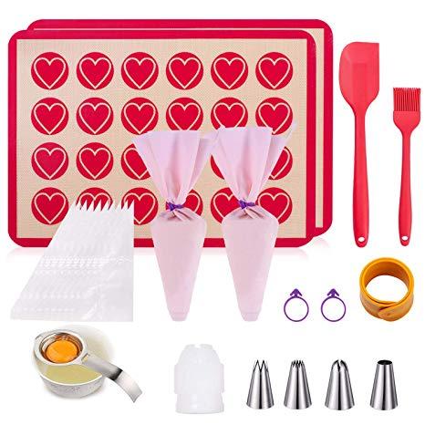 Macaron Mat Silicone Baking Mat for Macaron Baking Mat Kit