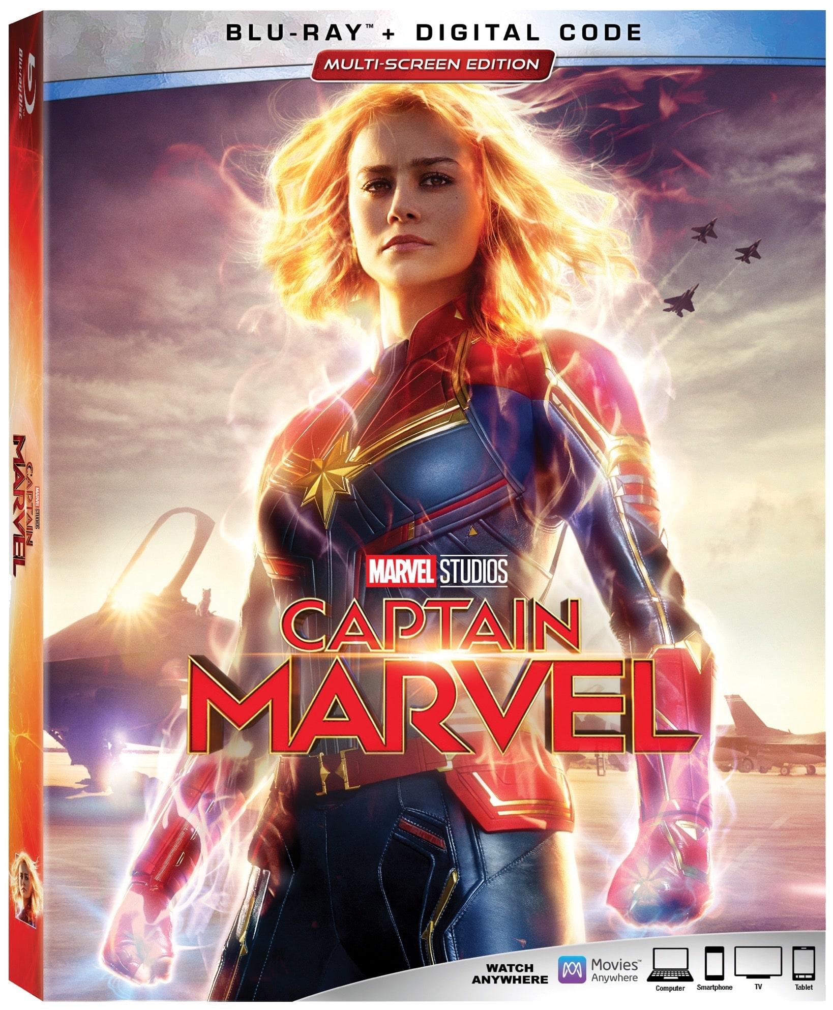 CaptainMarvel CoverArt Bluray