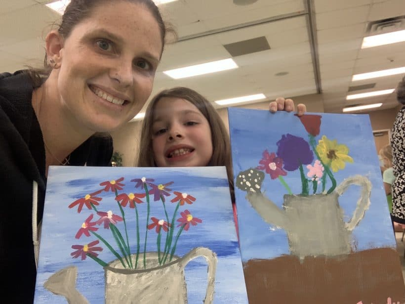Painting with E and Celebrating Life | Mommy and Me Monday | 493rd