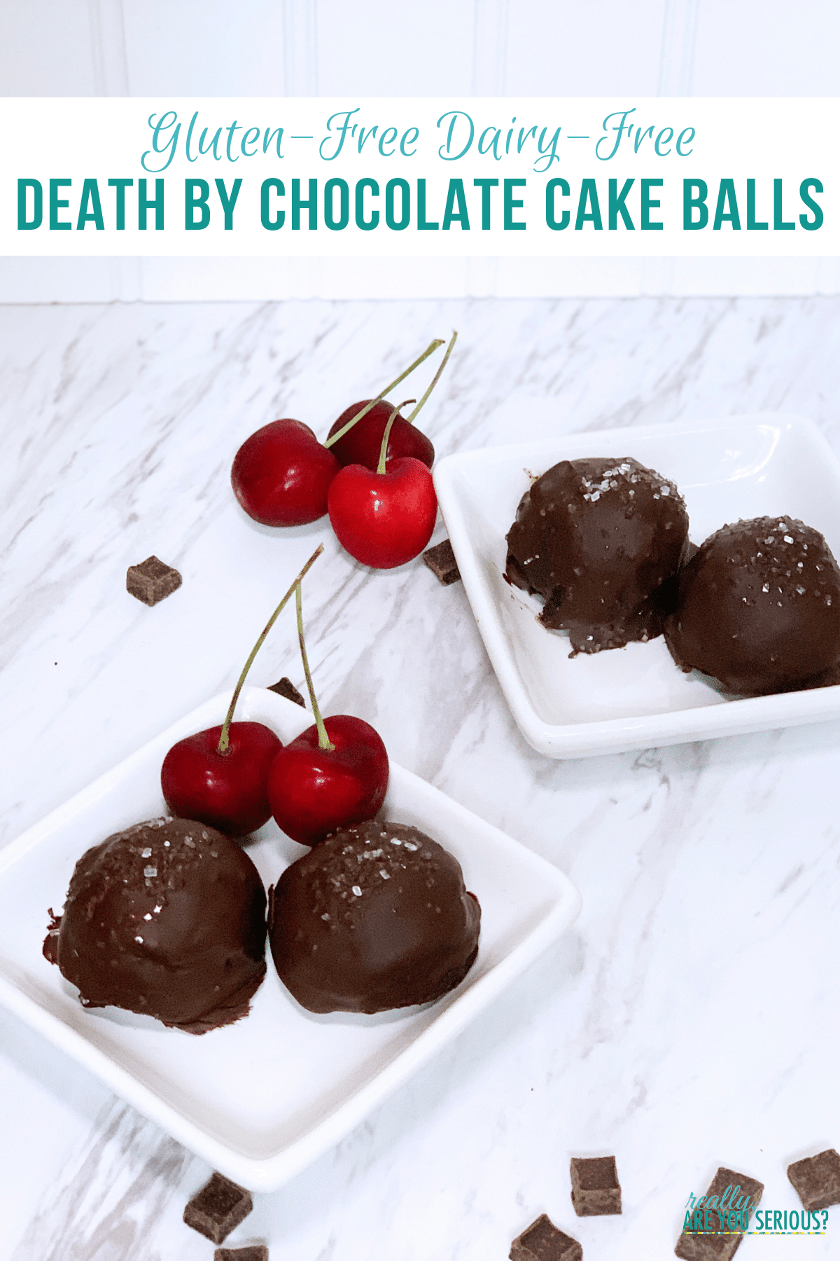 Gluten free dairy free cake pops death by chocolate