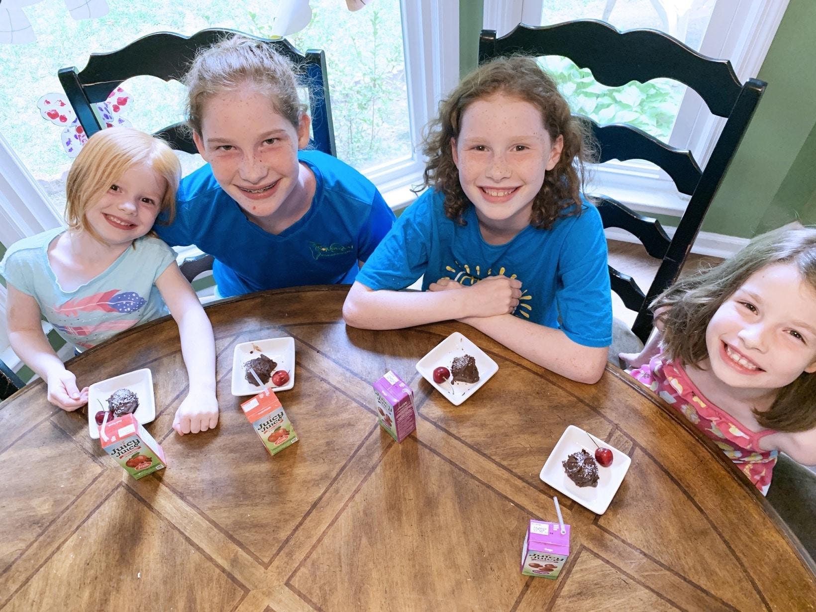 gluten free dairy free truffles with the girls