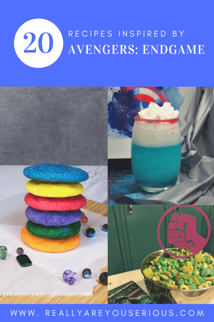 Avengers: Endgame | 20 Recipes inspired by your favorite Marvel heroes