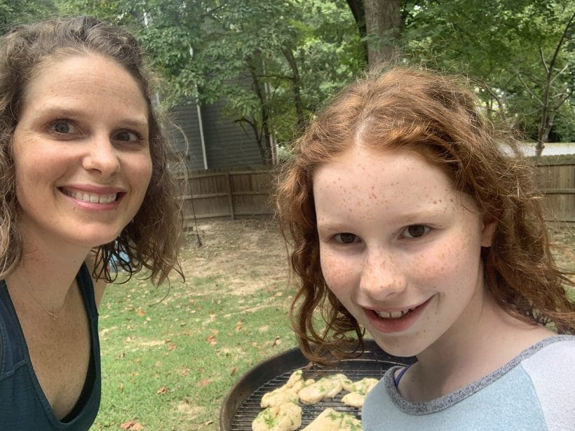 Matching curls and grilling | Mommy and Me Monday | 498th