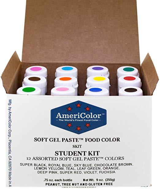 Soft Gel Paste Colors