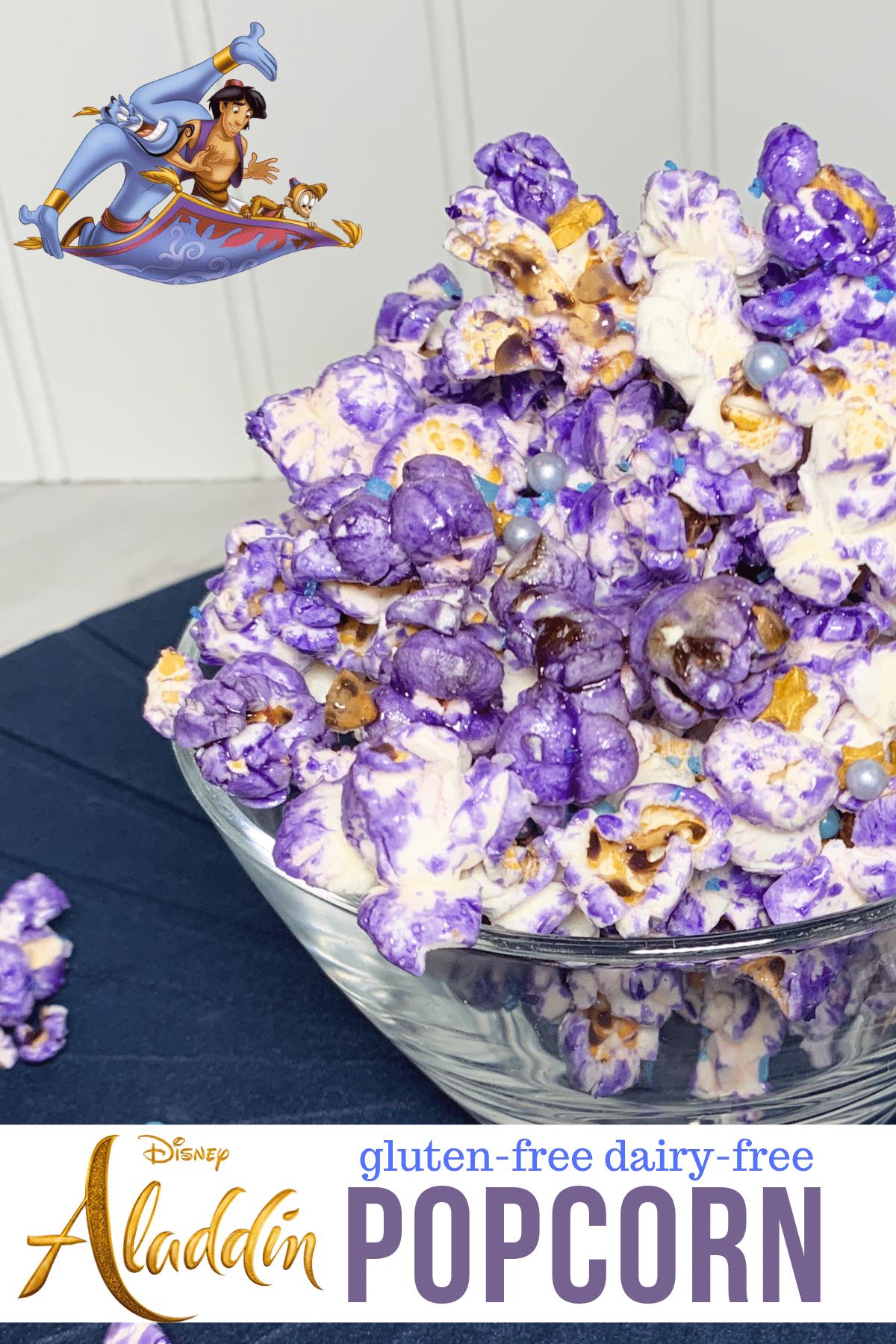Aladdin popcorn gluten free and dairy free