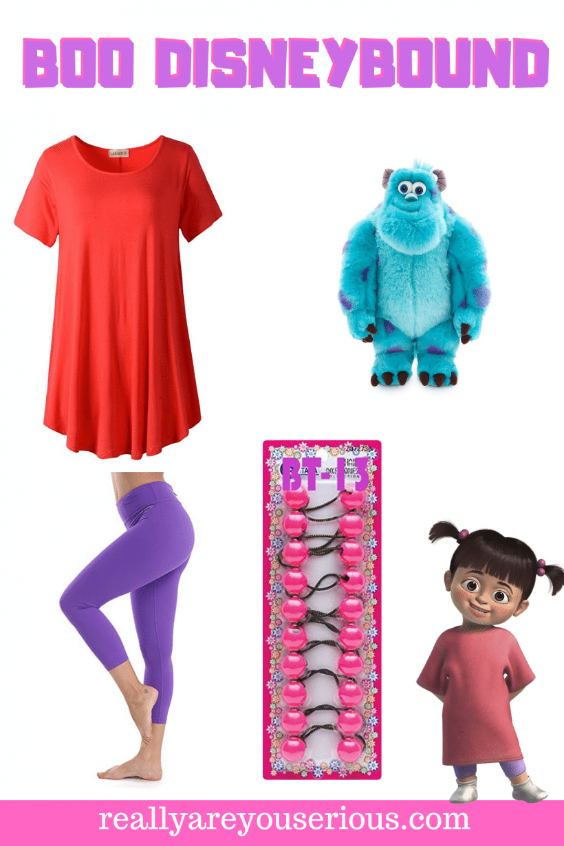 Boo DisneyBound from Monsters Inc Essentials