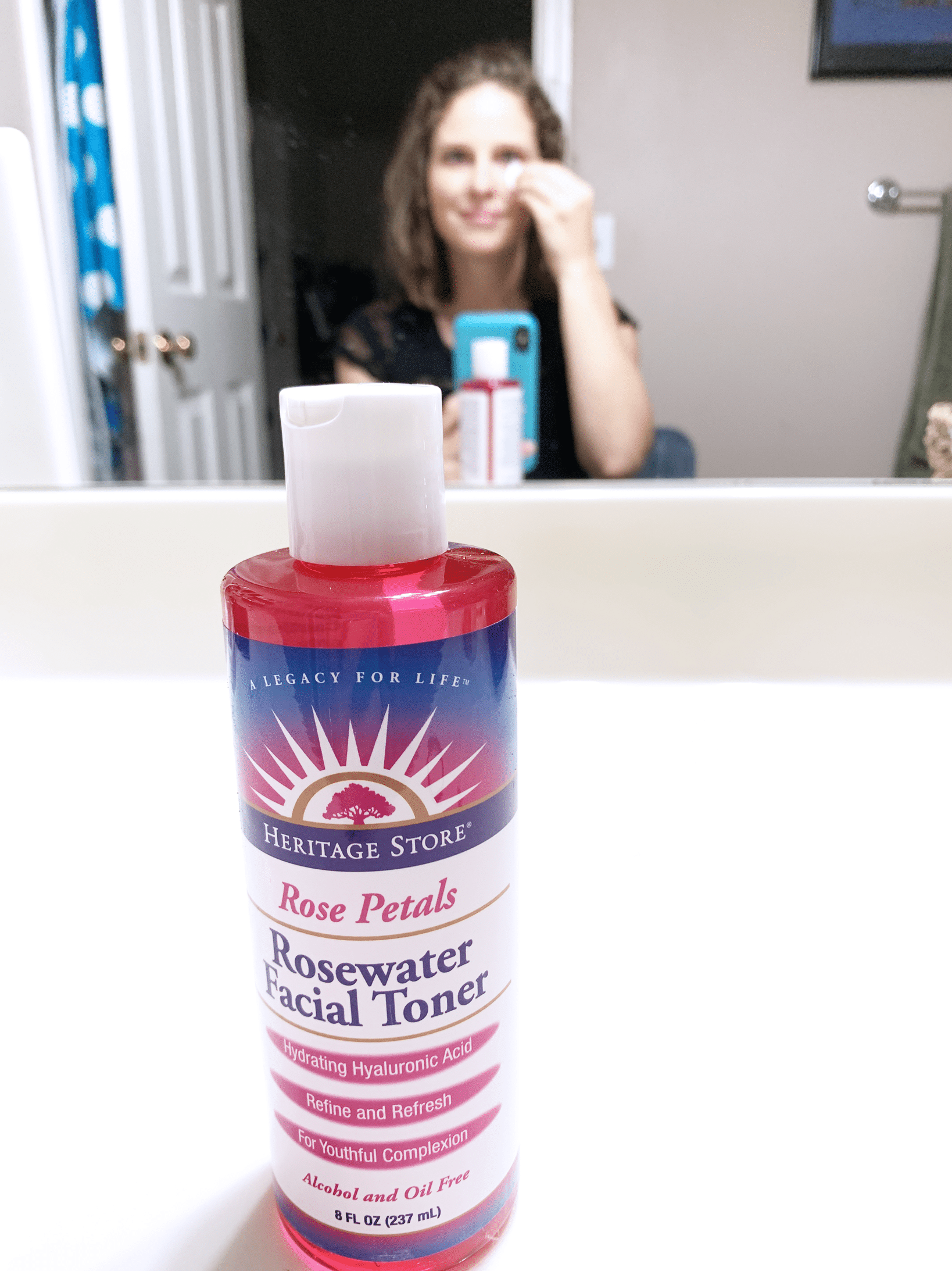 Rosewater and Rosewater Facial Toner from Heritage Store
