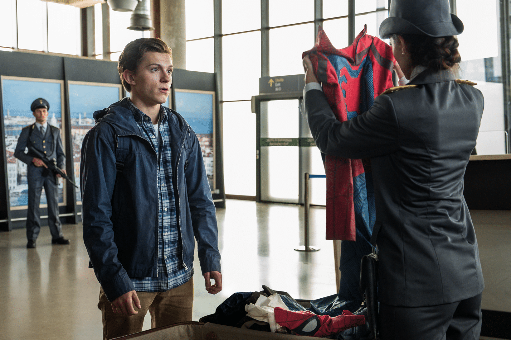 Spider-Man Far From Home Suit Up