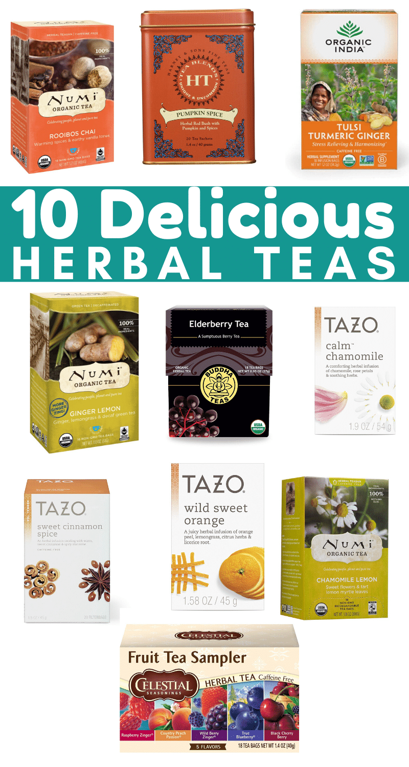 10 Delicious Herbal Teas to Drink in honor of  Downton Abbey