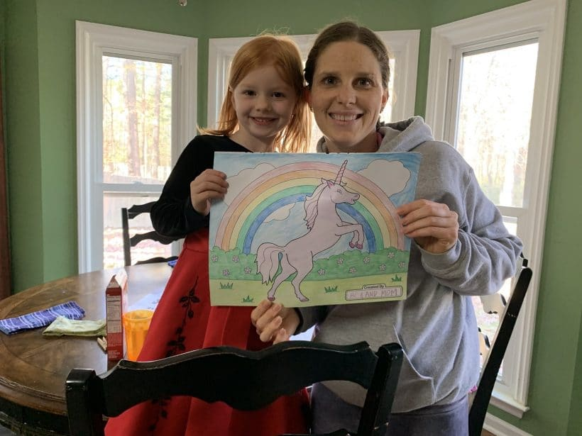 Coloring, painting and hiking | Mommy and Me Monday | 512th ed