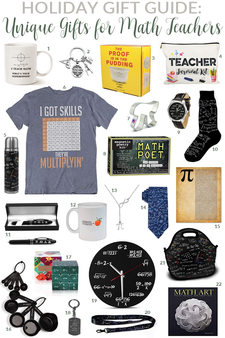 Gifts every math teacher needs in their life