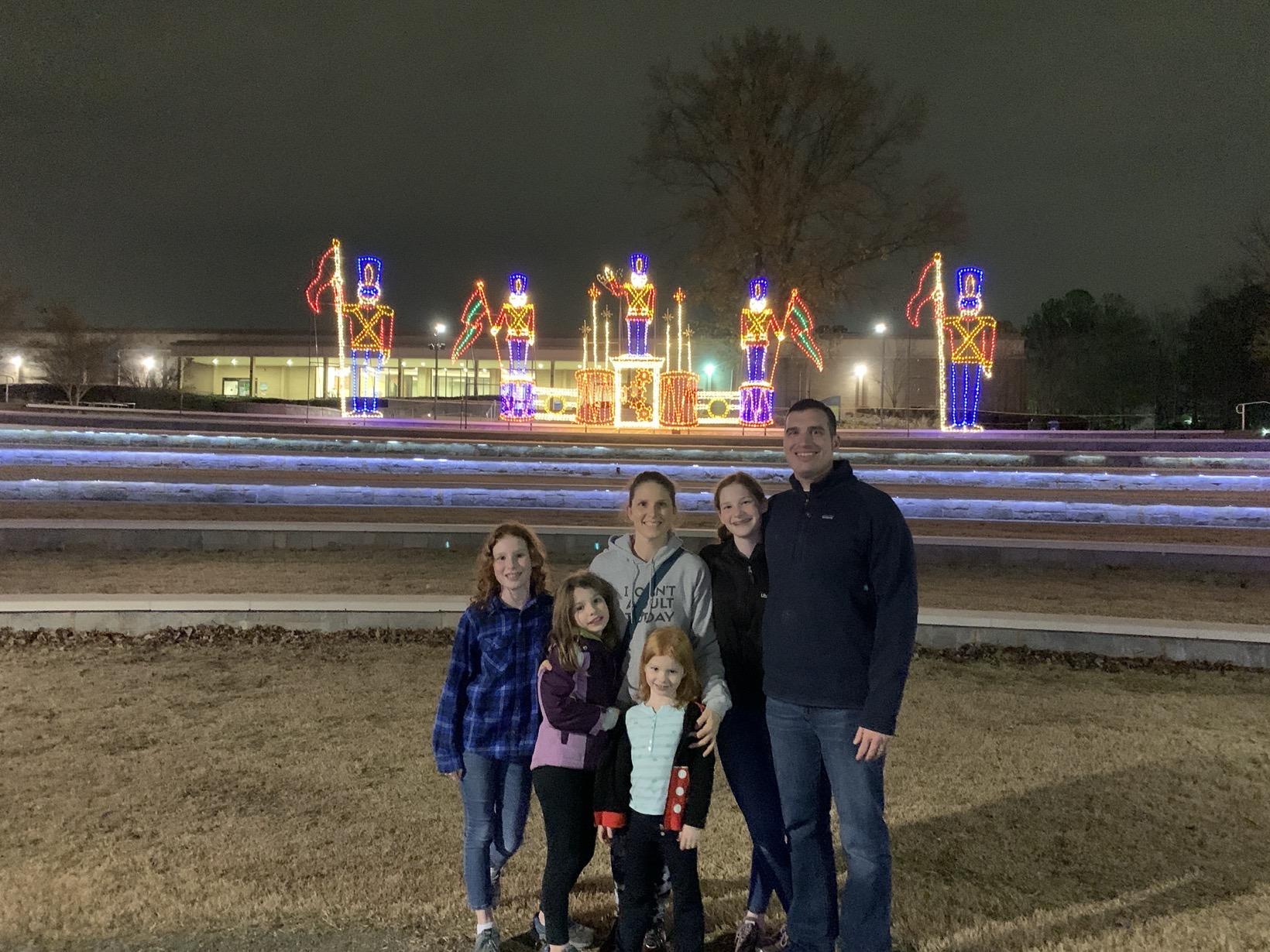 christmas light viewing