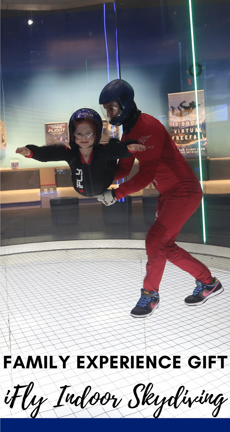 IFly family experience gift