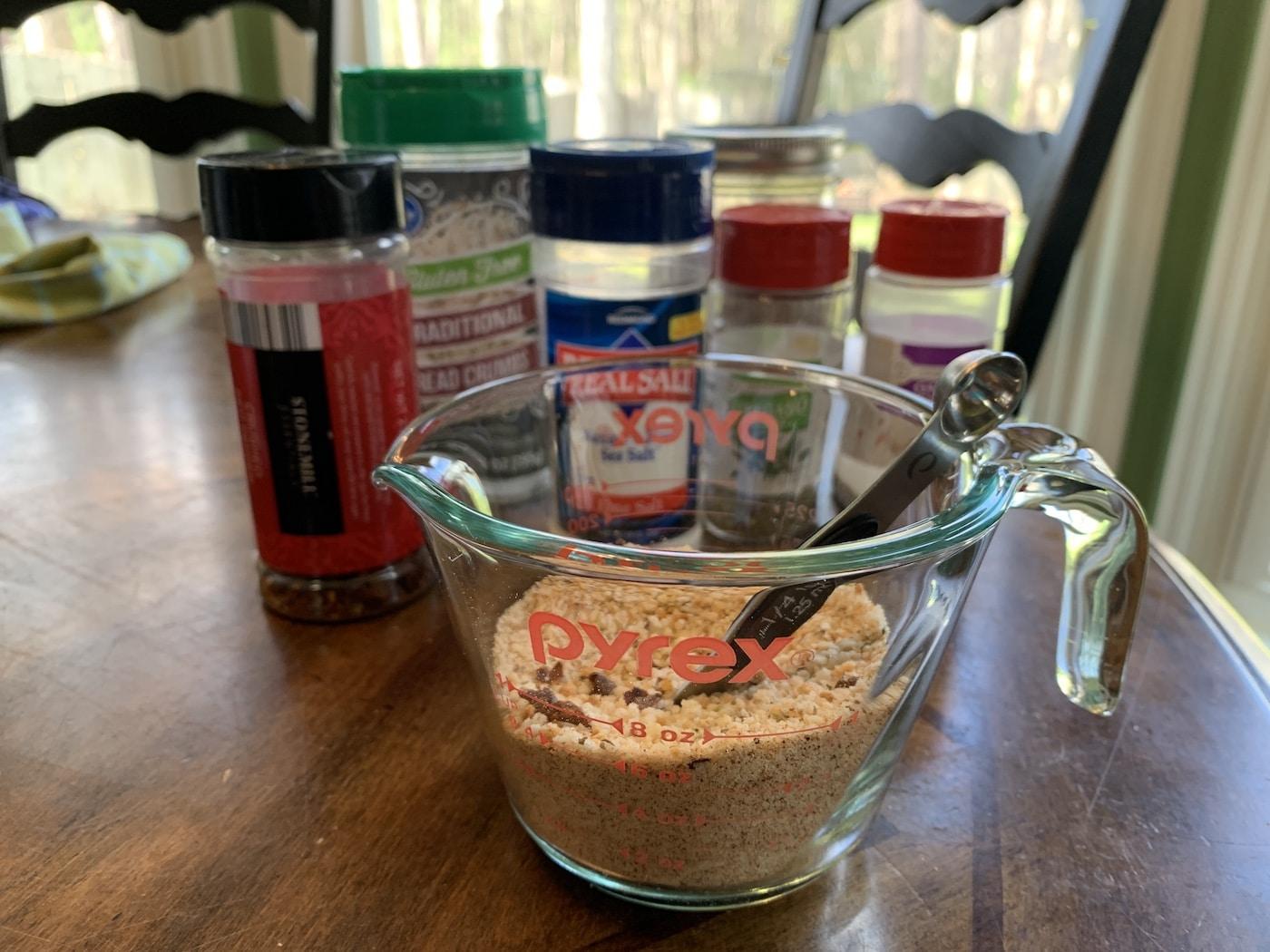 gluten free air fryer tenders ingredients