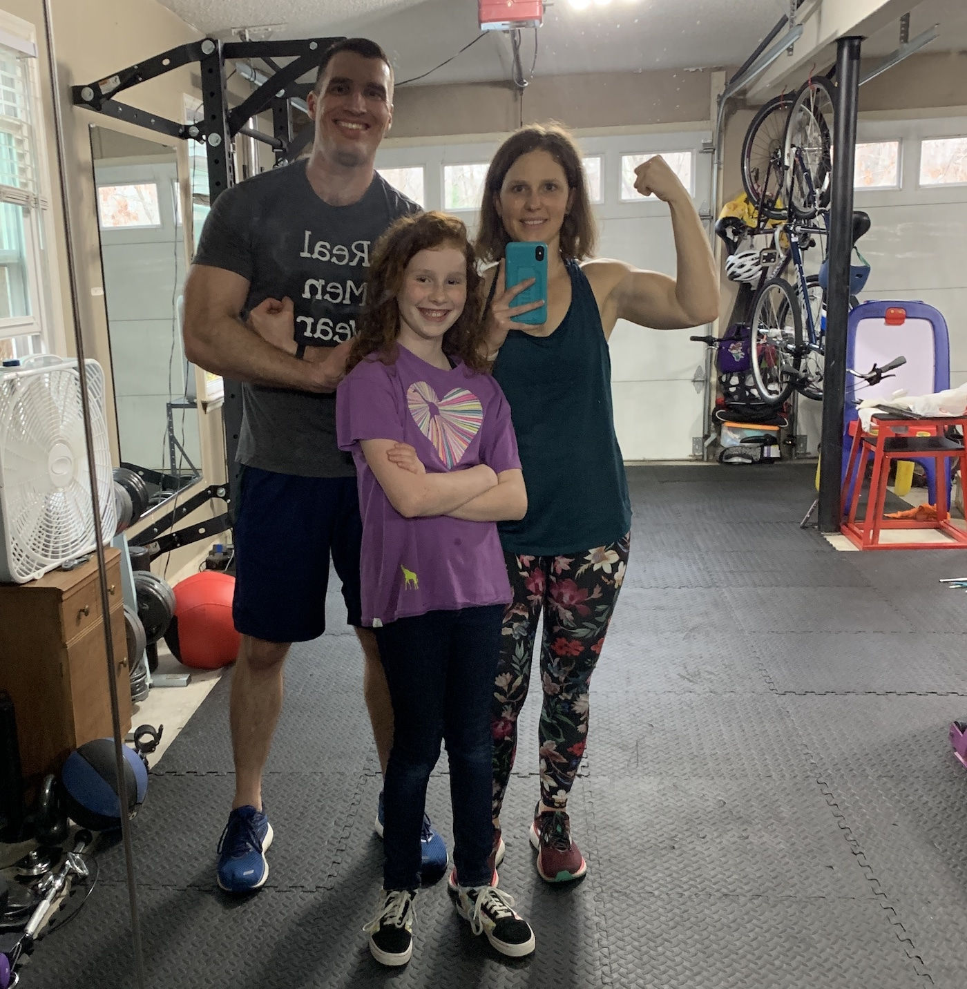 mommy and me monday in the gym with mr serious and n