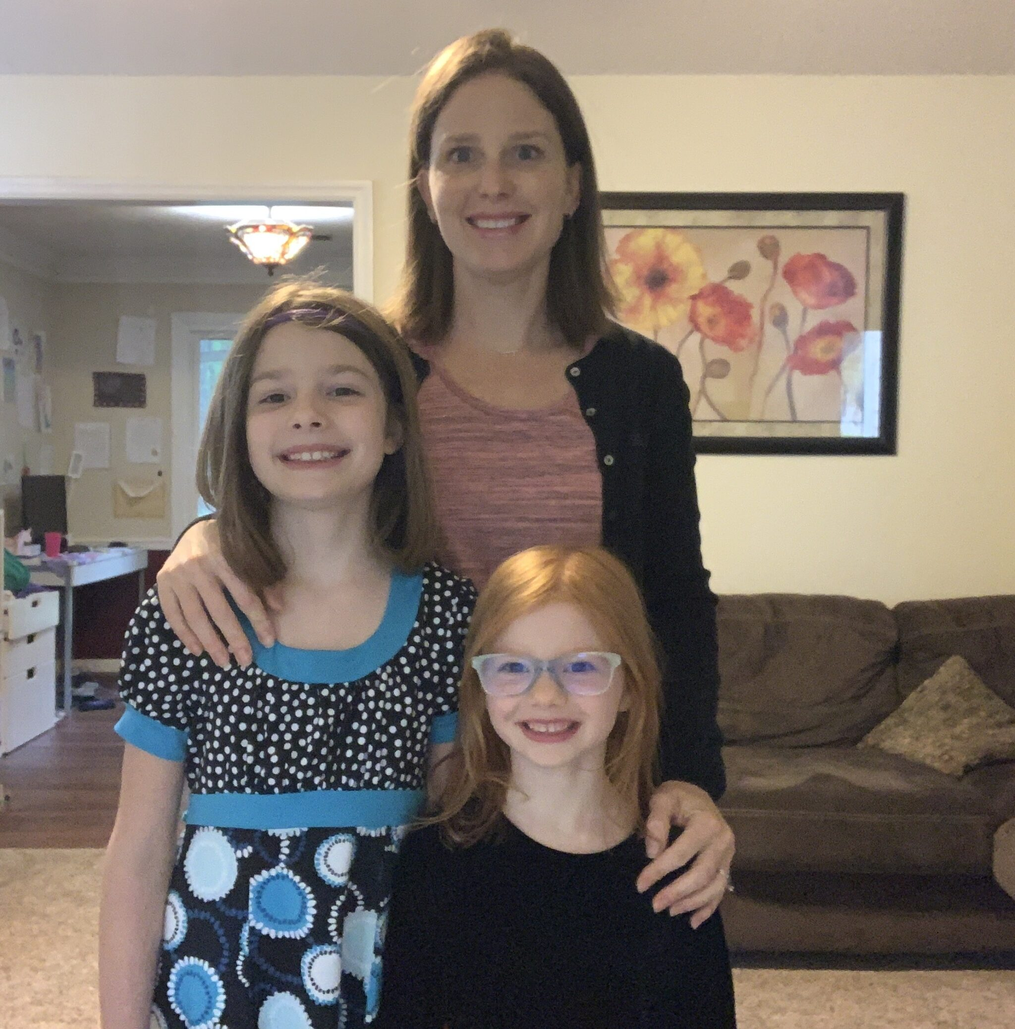Easter at home with mommy e and b