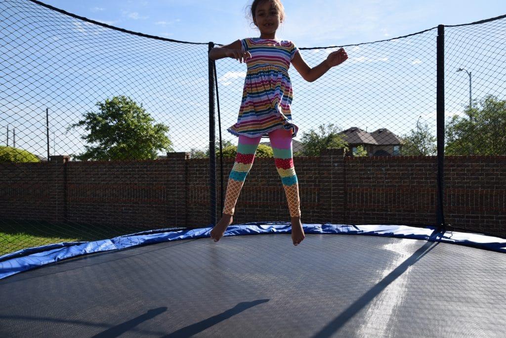 Jump with JumpSport Trampoline