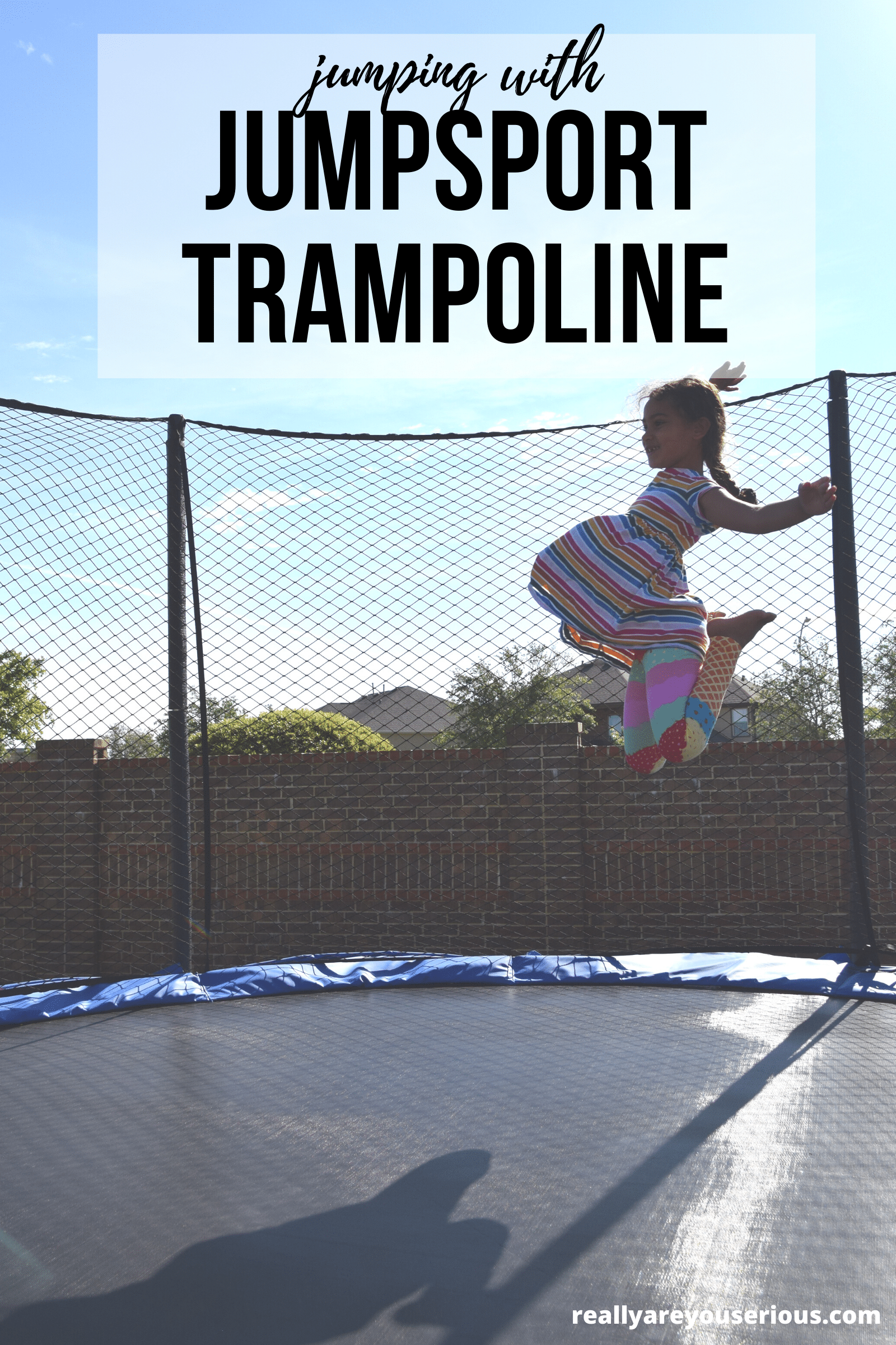 jumping with jumpsport trampoline