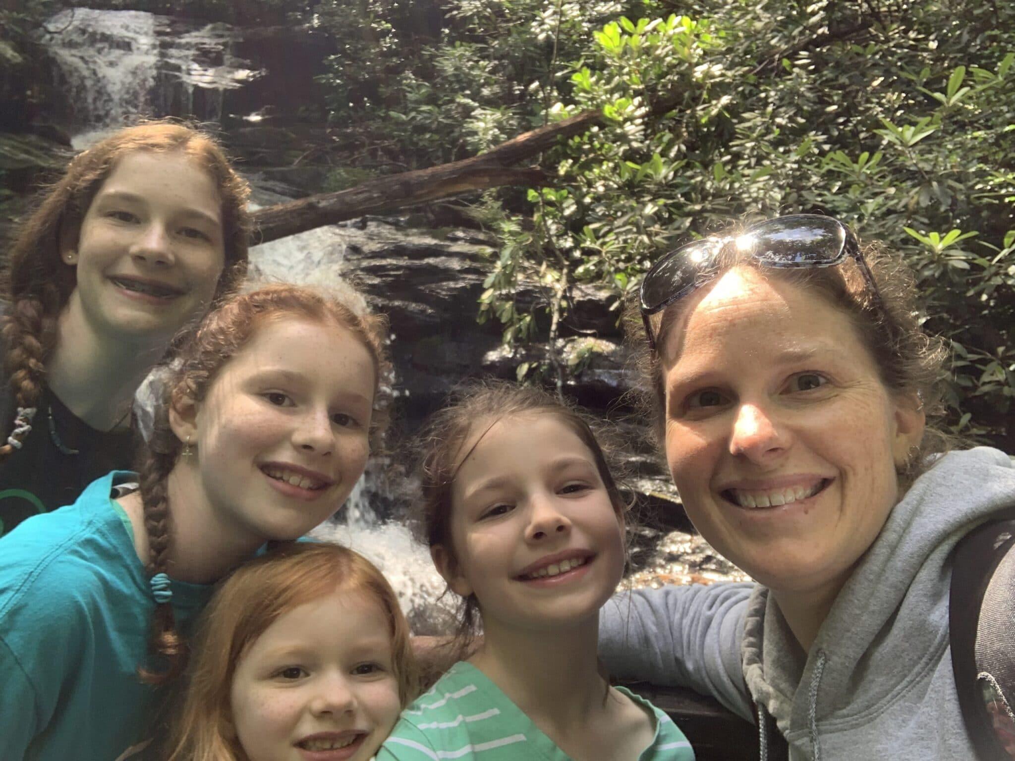 Hiking some more waterfalls