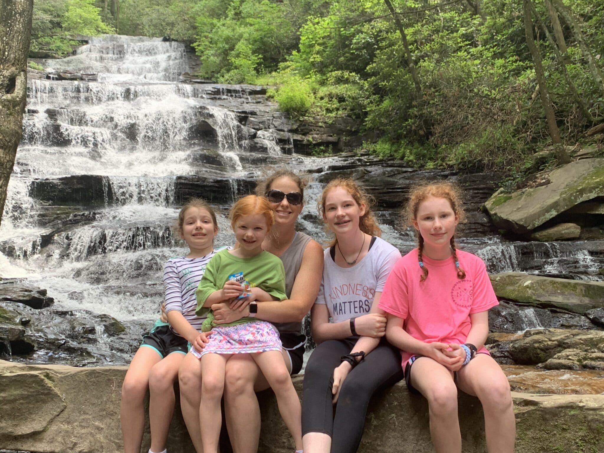 At Panther Falls