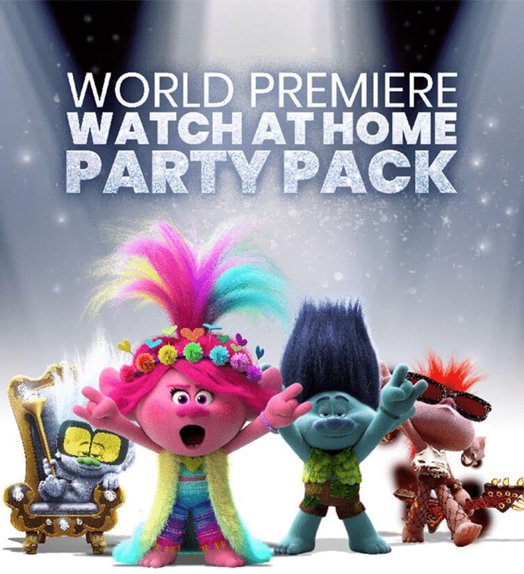 Trolls Party Pack Activity Kit