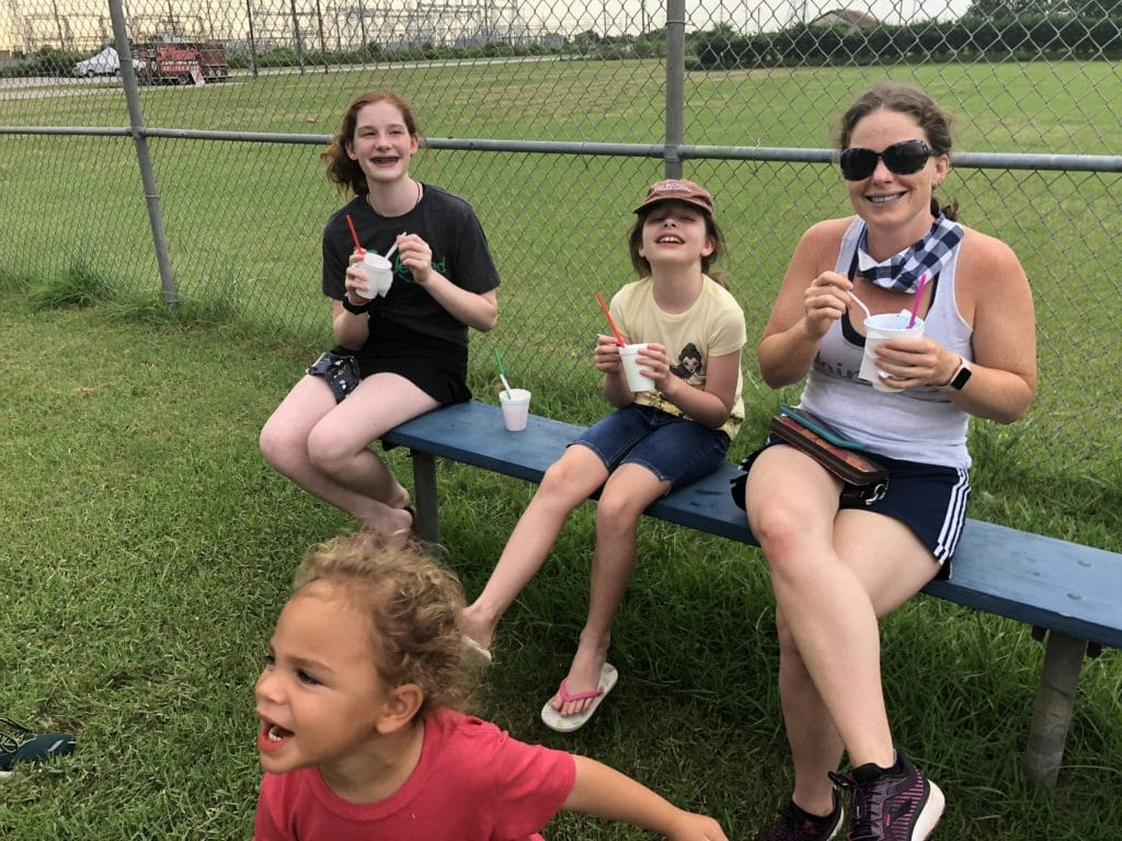 Running and Shaved Ice | Mommy and Me Monday | 544th ed