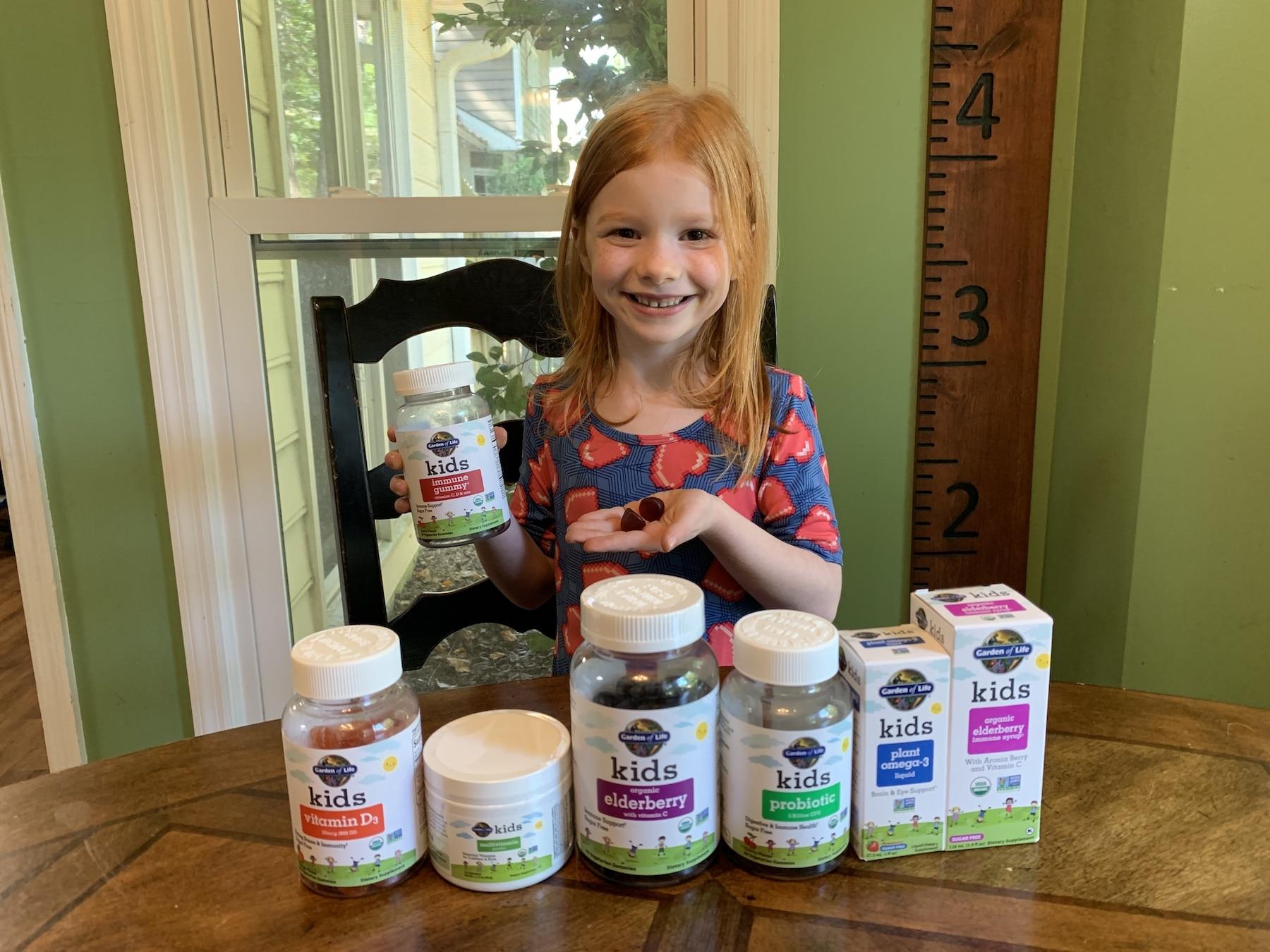Garden of Life kid vitamin line