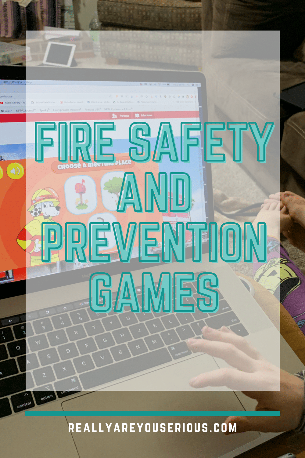 fire safety and prevention games