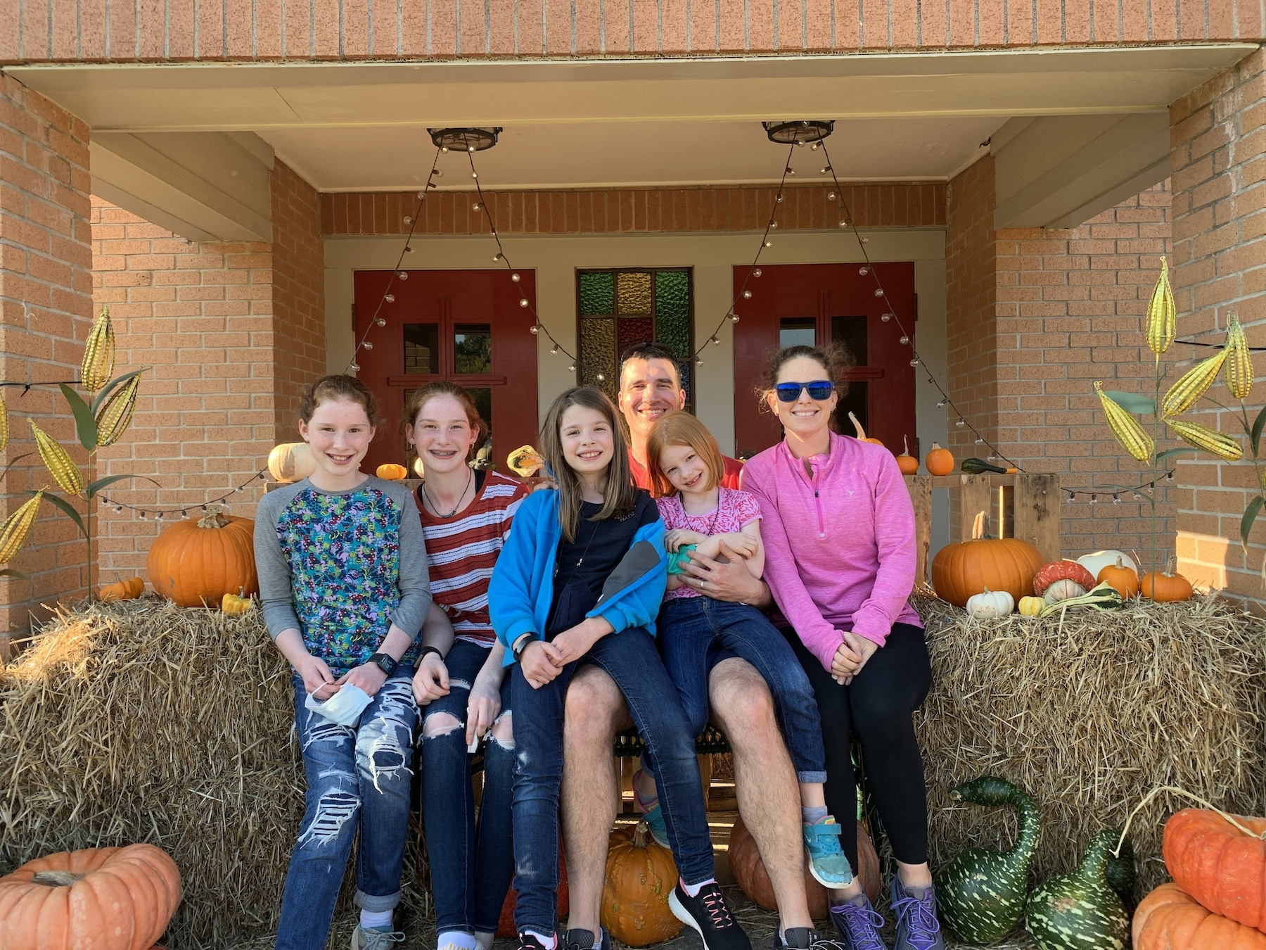 pumpkln patch 2020 family