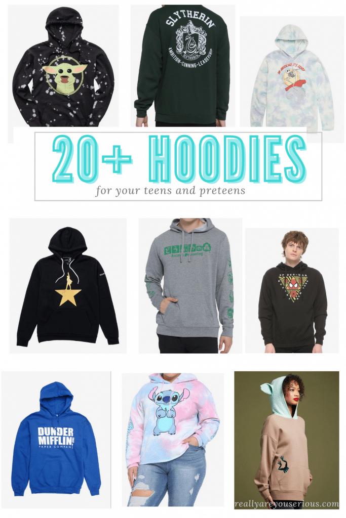 20+ Hoodies Your Teens Want