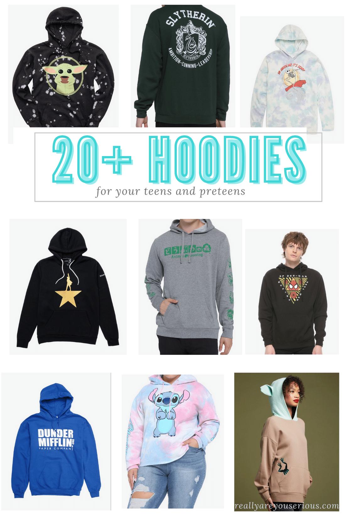 20 hoodies your teens want