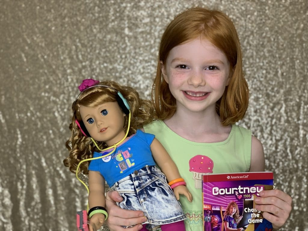 Meet American Girl's new doll Courtney plus a free word search printable