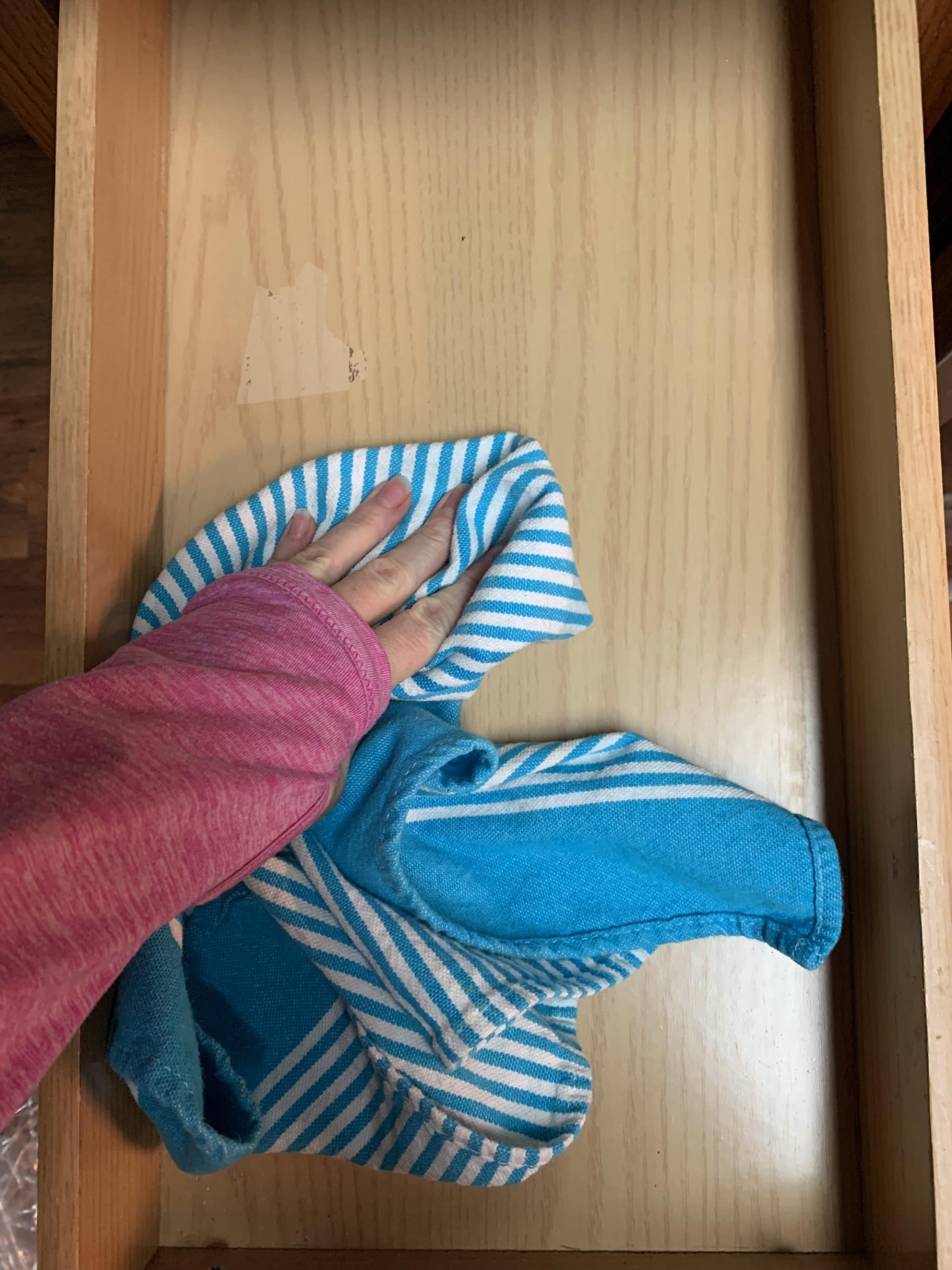 drying out drawer