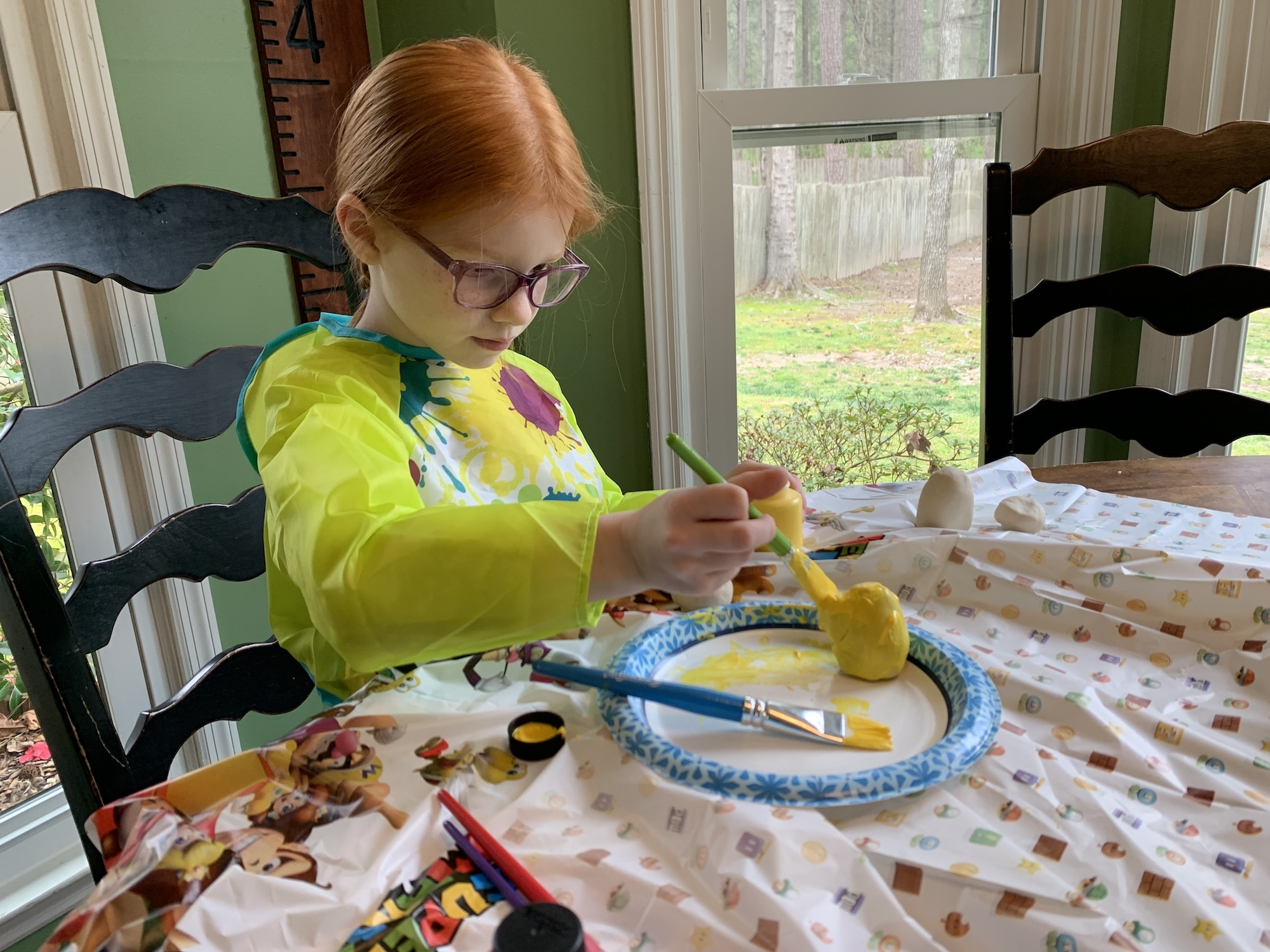 painting nintendo eggs