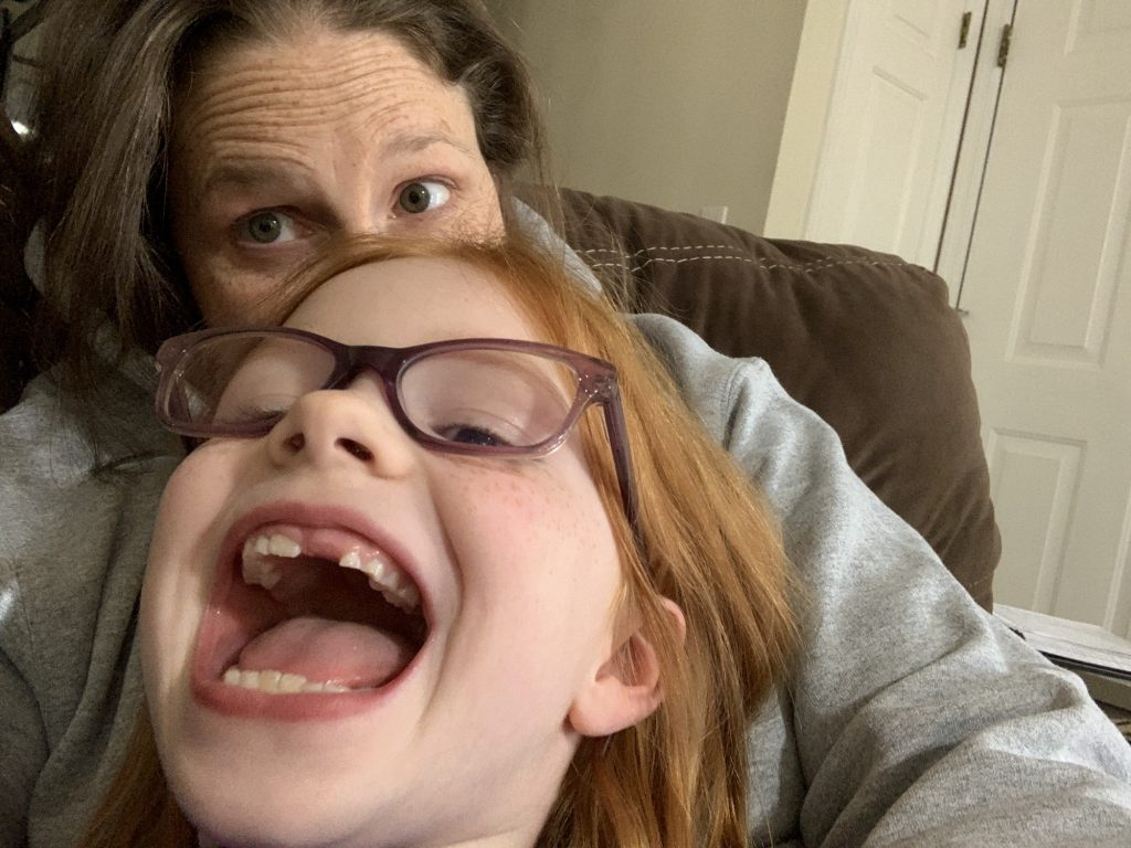 Does she ever NOT make a silly face? Mommy and Me Monday | 578th ed