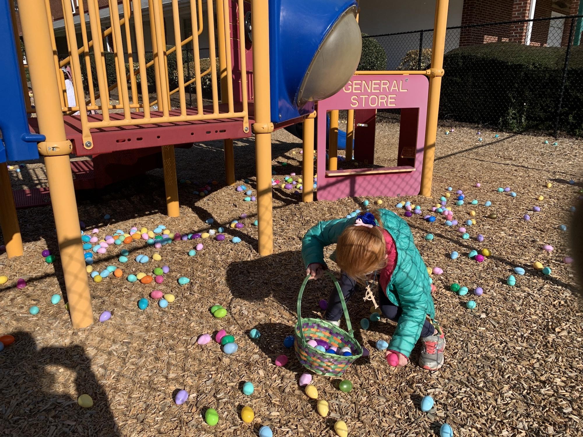 B egg hunt