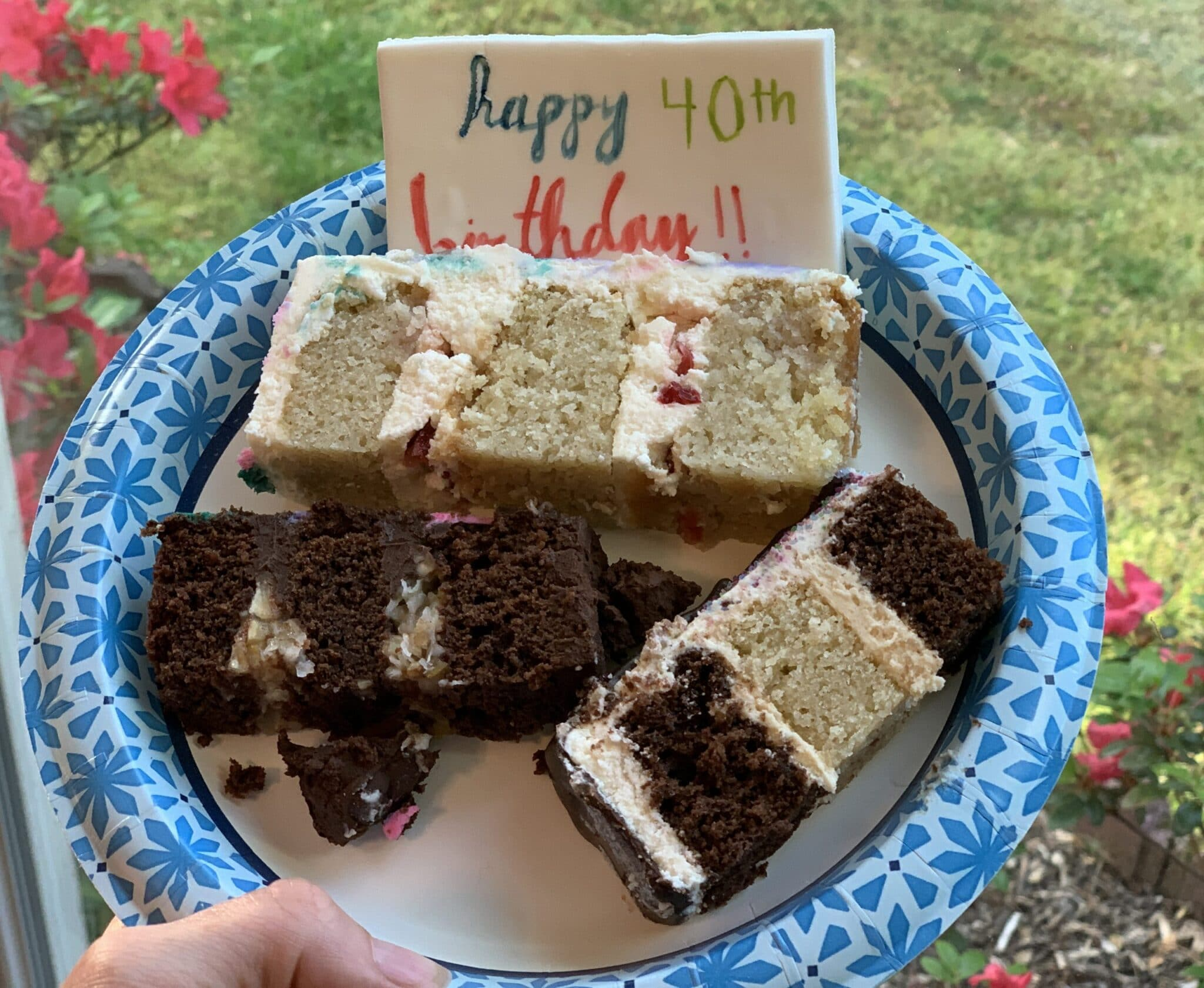 inside of 40th birthday cakes mommy and me monday