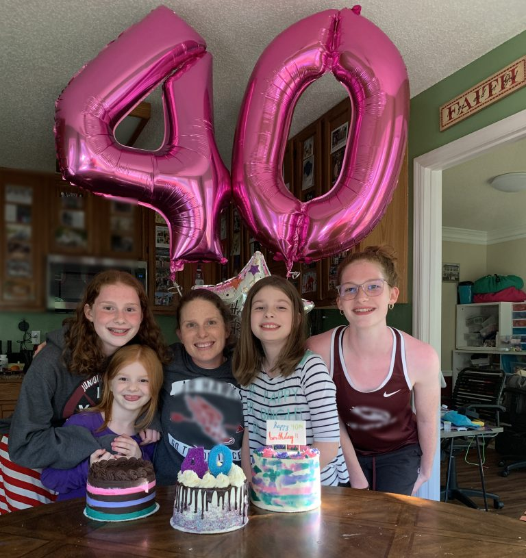 The big 4-0! | Mommy and Me Monday | 584th ed