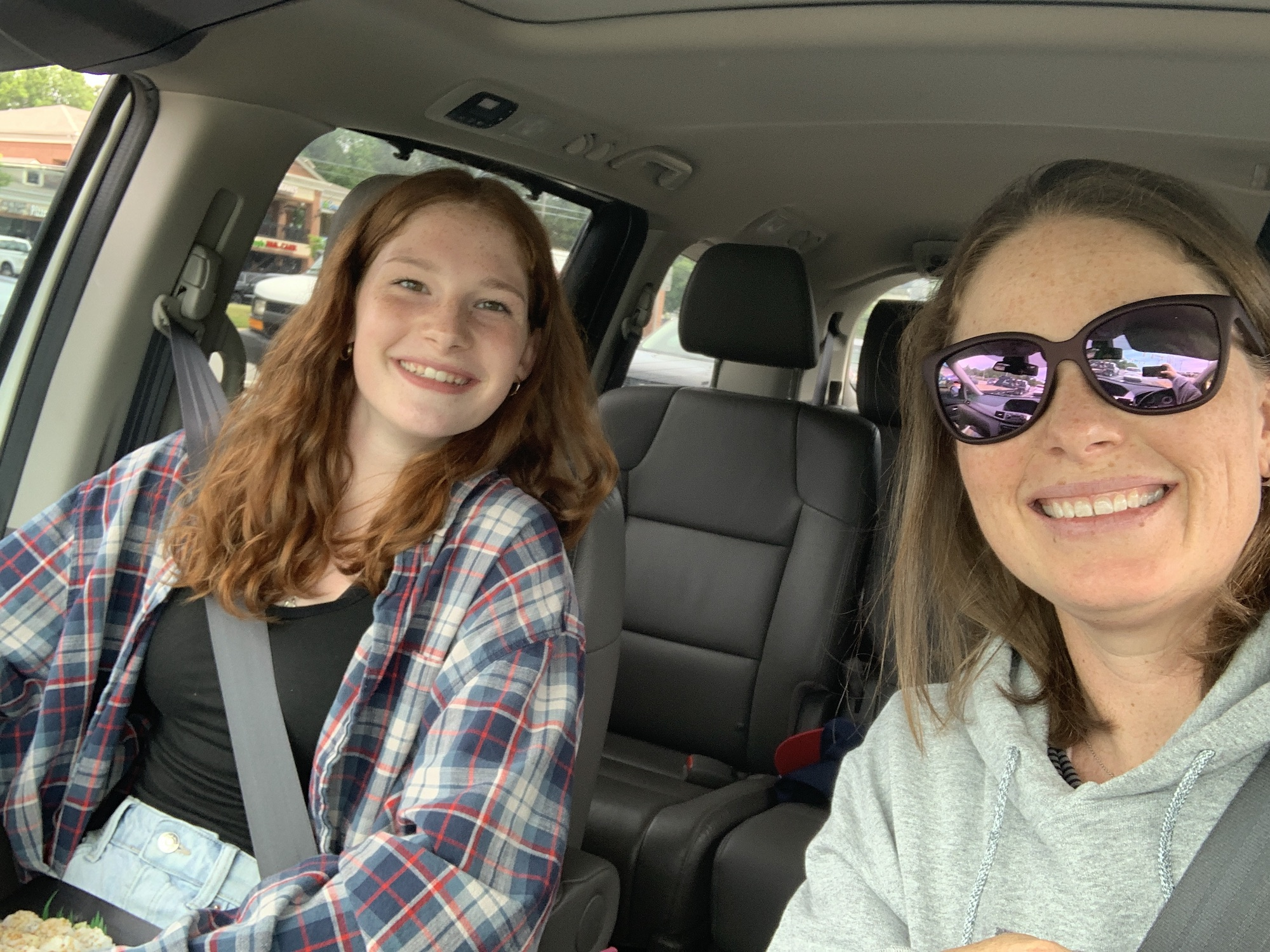 car lunch with the oldest
