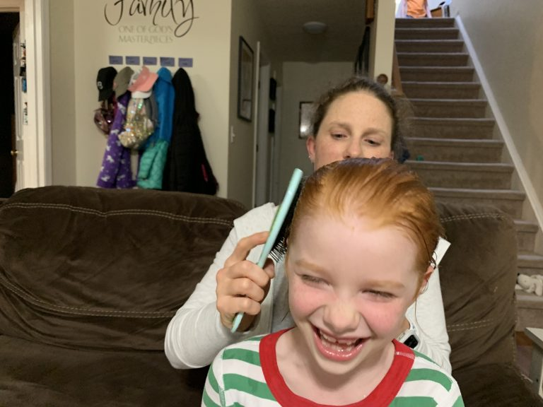 Hair and smiles | Mommy and Me Monday | 586th ed