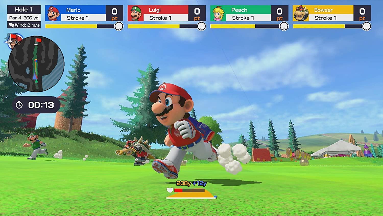 super mario golf super rush